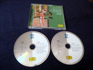 2xCD Verdi Il Trovatore GA COMPLETE TOTAL Bergonzi Stella SERAFIN Scala DGG DG