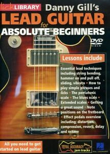 Gill, Danny: Lead Guitar for Absolute Beginners [New DVD]