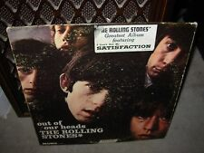 ROLLING STONES out of our heads ( rock ) mono london boxed ffrr england STICKER