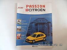 MAGAZINE PASSION CITROEN N°90 SAXO BIC 2000    D39