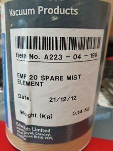 Edwards EMF 20 Spare Mist Element -- A223-04-199