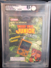 2007 NINTENDO MINI CLASSICS DONKEY KONG JUNIOR HAND HELD GAME COLOR LCD VGA 85