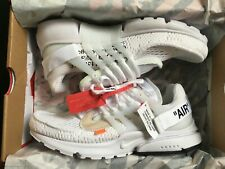 nike air presto off white black en vente | eBay