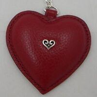 Brighton B WISHES HEART Key Fob NWT E15367  Be Happy
