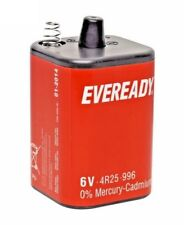 EVEREADY PJ996 4R25 996 6V LANTERN BATTERY ENERGIZER ORIGINAL /BRAND NEW