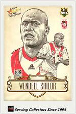 2009 Select NRL Champions Star Sketch Card SK24 Wendell Sailor (Dragons)