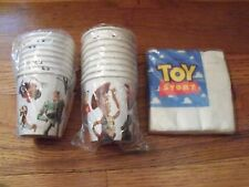 3pc Lot Party Express Toy Story Birthday Party Goods Multi-color NOS