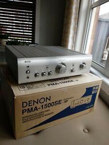 DENON PMA1500SE Integrated Amplifier/Japan model/ Working order/Remote/Box