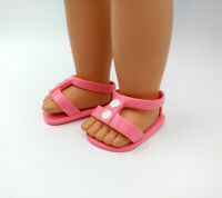 Red Jelly Sandals Fits 18 inch American Girl Dolls