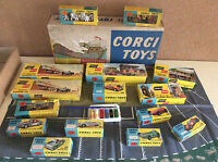 Corgi Toys Gift Set 15 Silverstone Racing Layout ovp VERY RARE !