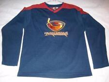 63c7e08aef8 Atlanta Thrashers Hockey NHL Winning Goal Blue Jersey Boys Large 14-16 used