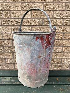 Vintage Galvanised Metal Bucket