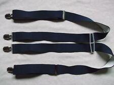 Braces Suspenders Mens Vintage CLIP ON 1970s SKA NAVY