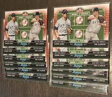 12x CARD LOT AARON JUDGE IAN CLARKIN 2013 BOWMAN DRAFT DUAL DRAFTEE JC YANKEES