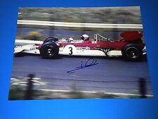MARIO ANDRETTI SIGNED INDY CAR DRIVER 11x14 PHOTO coa indy 500 winner