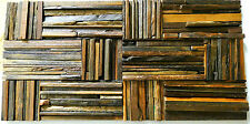Decorative Wall Panel, 3D Wood Wall Decor, Vintage Wall Tile, Ancient Boat Tiles