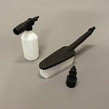 More details for titan pressure washer detergent foam sprayer bottle & fix brush