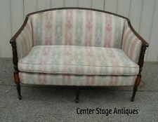 59355 Hepplewhite Loveseat Sofa Couch Inlaid