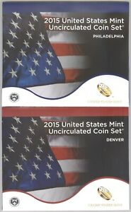 2015 United States Mint Uncirculated Coin Set