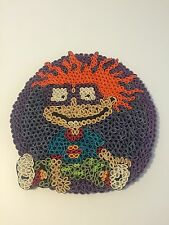Rugrats CHUCKIE Handmade Art Quilling Rolled Paper Nickelodeon Cartoon Toy RARE