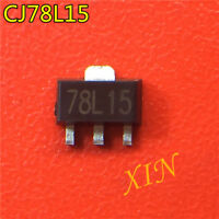 100pcs CJ78L15 78L15 SOT89 three end stable voltage 15V