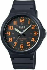 Casio MW-240-4BVEF 48 mm Black Case with Black Rubber Strap Men's Wristwatch