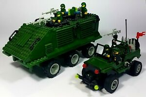 Banbao Defence Force Armoured Car & Jeep Pull Back Action Military/Army