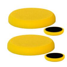 Vossner ® Éponge de polissage x2 Jaune dur 150 mm 25 mm pad de polissage machine Rotario