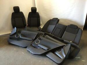 VE Commodore SV6 SS Calais seats and door trims set sedan cloth black