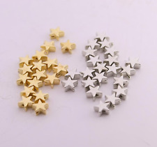 Spacer Beads pack of 200, Star Spacer Beads, jewellery making supplies