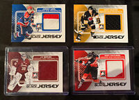 Weal / Couturier / Berube / Glennie - Jersey Lot - 2011 ITG Heroes Prospects