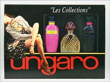 "ღ ""Les Collections"" - Ungaro - Minis 1xEDP 2xEDT & 3 x 7,5ml"