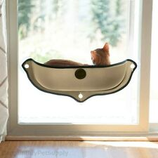 KH Mfg EZ Mount Window Cat Perch Bed Kitty Sill Tan
