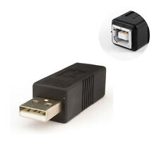 USB 2.0 Type A Male to B Female Adapter Converter Connector For Printer Scanner