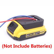 Dewalt DCB 18V/20V Li-ion Battery Convert to DIY Connection Line Output Adapter