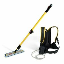 NEW Rubbermaid Flow Finishing Kit System Flat Mop with 18 in. Mop Head Q979