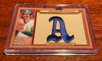 ROLLIE FINGERS 2011 TOPPS UPDATE THROWBACK PATCH RELIC #TLMP-RF OAKLAND A'S #HOF