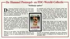 Hummel kaart met zegel Cambodge 1993 MNH - Soldaatje spelen (020)