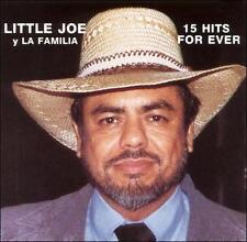 Little Joe y La Familia 15 Hits for Ever CD New Nuevo Sealed