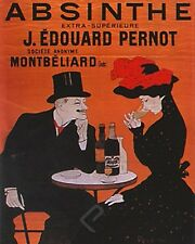 ABSINTHE PERNOT by Leonetto Cappiello. Vintage Advertising Poster Reproduction