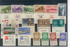 ISRAEL STAMPS COMPLET FULL YEAR 1954 M.N.H + TAB