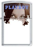 Zippo Playboy September 1971 Cover Satin Chrome Windproof Lighter NEW RARE