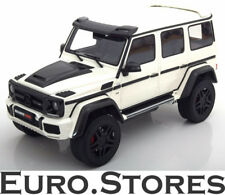 GT Spirit Mercedes G-Class BRABUS 500 4X4² White Model Car 1:18 Genuine New