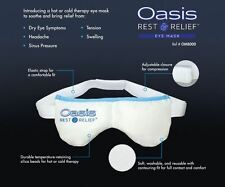 Oasis REST & RELIEF Eye Mask - Hot and Cold Therapy for the relief of dry eye, s