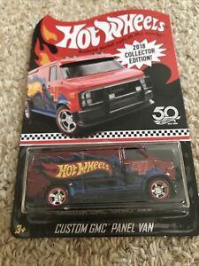 Hot Wheels RLC 2018 Custom GMC Panel Van Premium collection Real rider