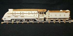 Laser Cut Wooden Malllard Steam Train 3D Model/Puzzle Kit