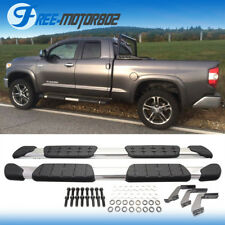 Fit 07-18 Toyota Tundra Double Cab OE Factory Side Step Nerf Bar Running Board