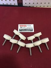 "New 1/4"" Shaft Mounted Stone Grinding Bit Long Circle 10 Pack USA made"