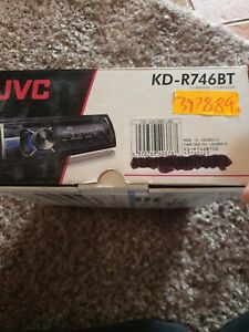 JVC car stereo bluetooth KD-R746BT