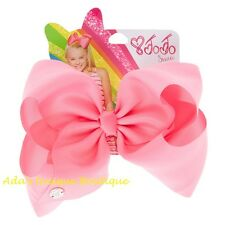 JoJo Siwa Large Pink Signature Hair Bow Dance Hair Bow Cheerleader Big Bows NWT